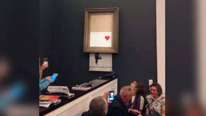Autodestruccion Banksy