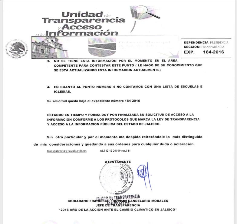 Lista de Cantinas de Sayula, Jalisco s2