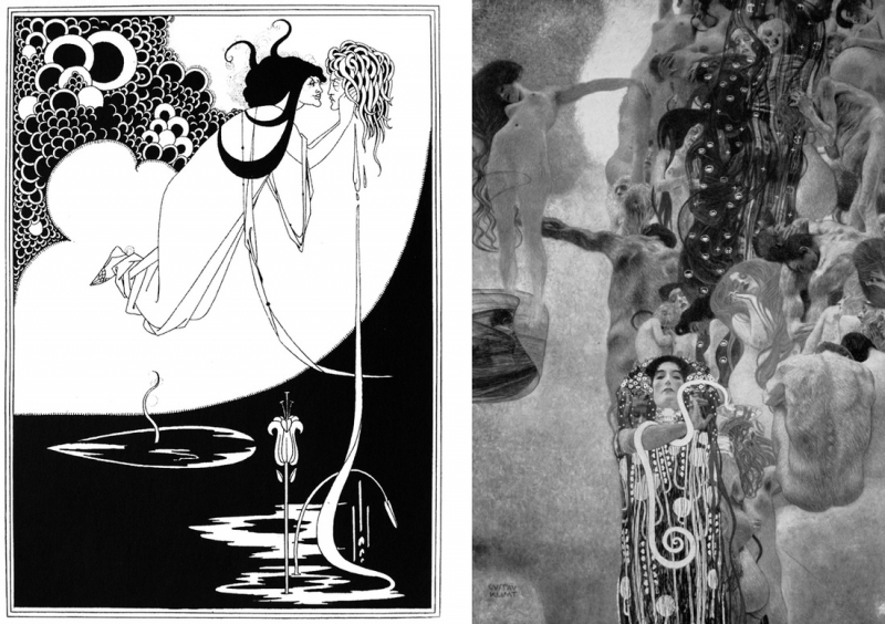 Aubrey Beardsley, The Climax, 1894.