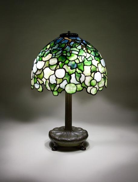 Tiffany Studios  Snowball Table Lamp, ca. 1904  Lillian Nassau LLC