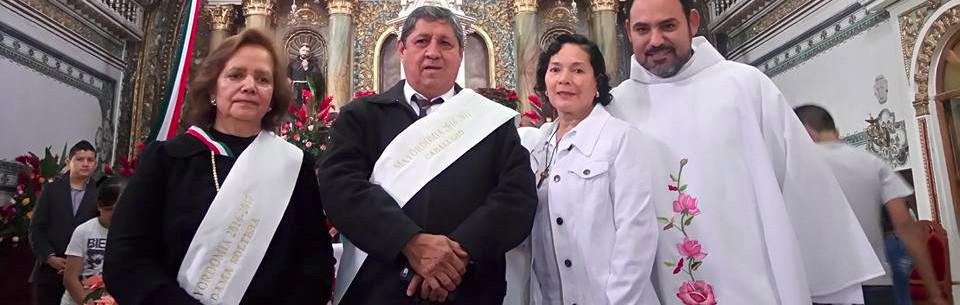 Jose Luis Larios, el mayordomo de el convento franciscano de la Virgen de Guadalupe en Sayula, Jalisco