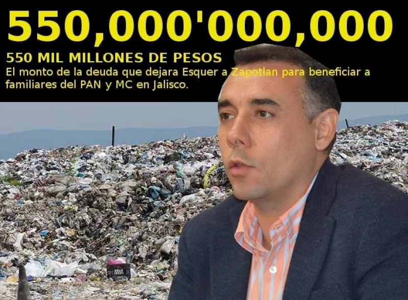 Desvio millonario de Alberto Esquer