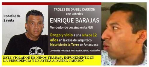 Enrique Barajas y Fabian Famoso violaron una niña en Amacueca