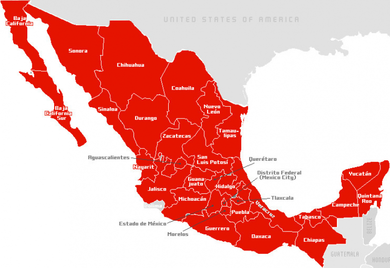 Casos de Coronavirus CODIV-19 en México, 25 de Marzo 2020