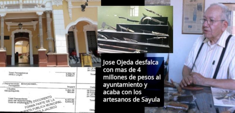 Jose Ojeda denunciado por otros cuchilleros de Sayula Jalisco