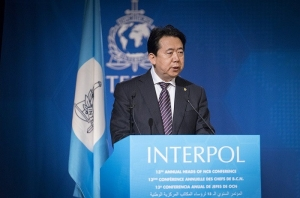 Detienen al jefe de la interpol en China por actos de corrupcion